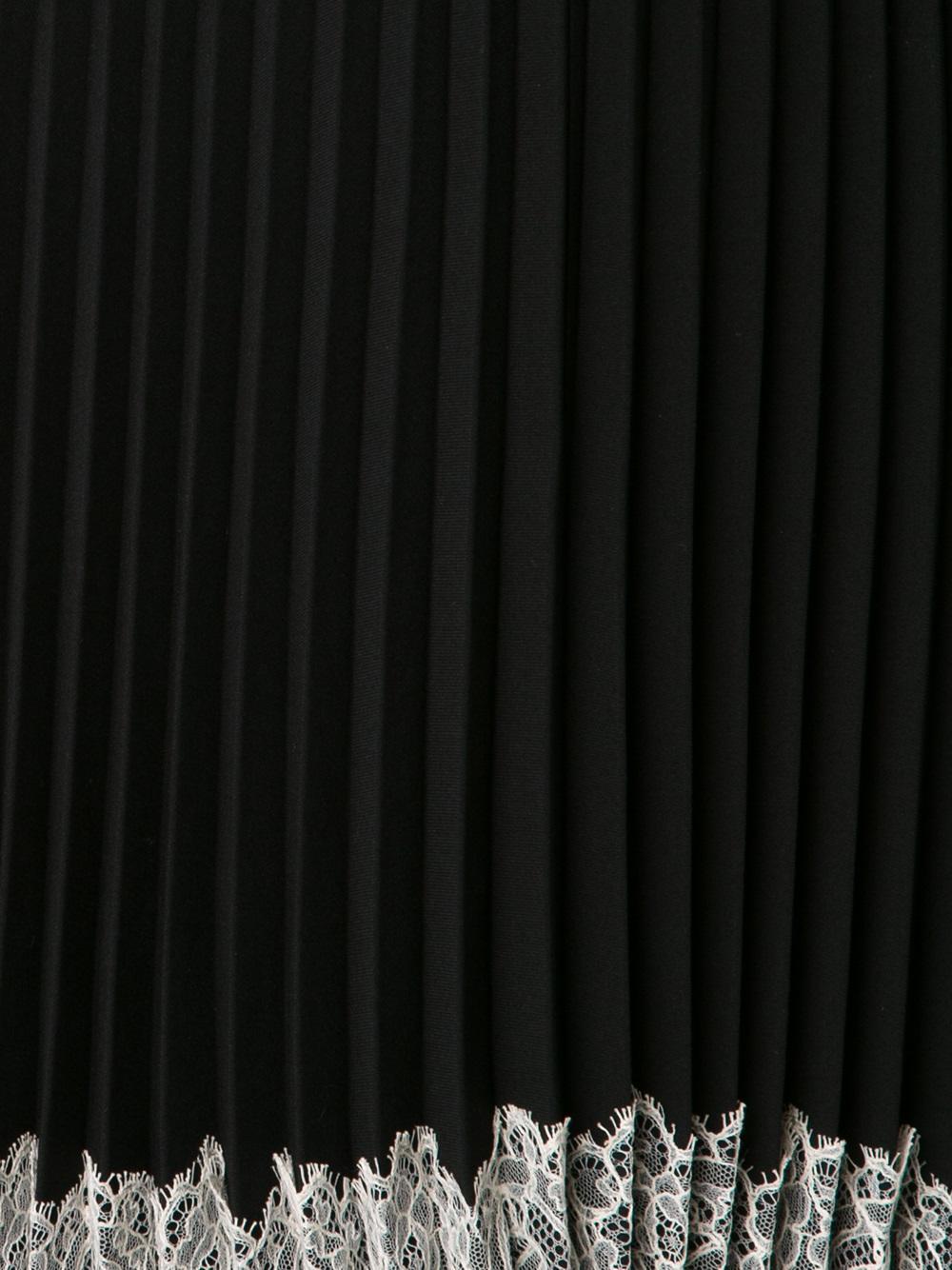 RED Valentino Sort Kjole