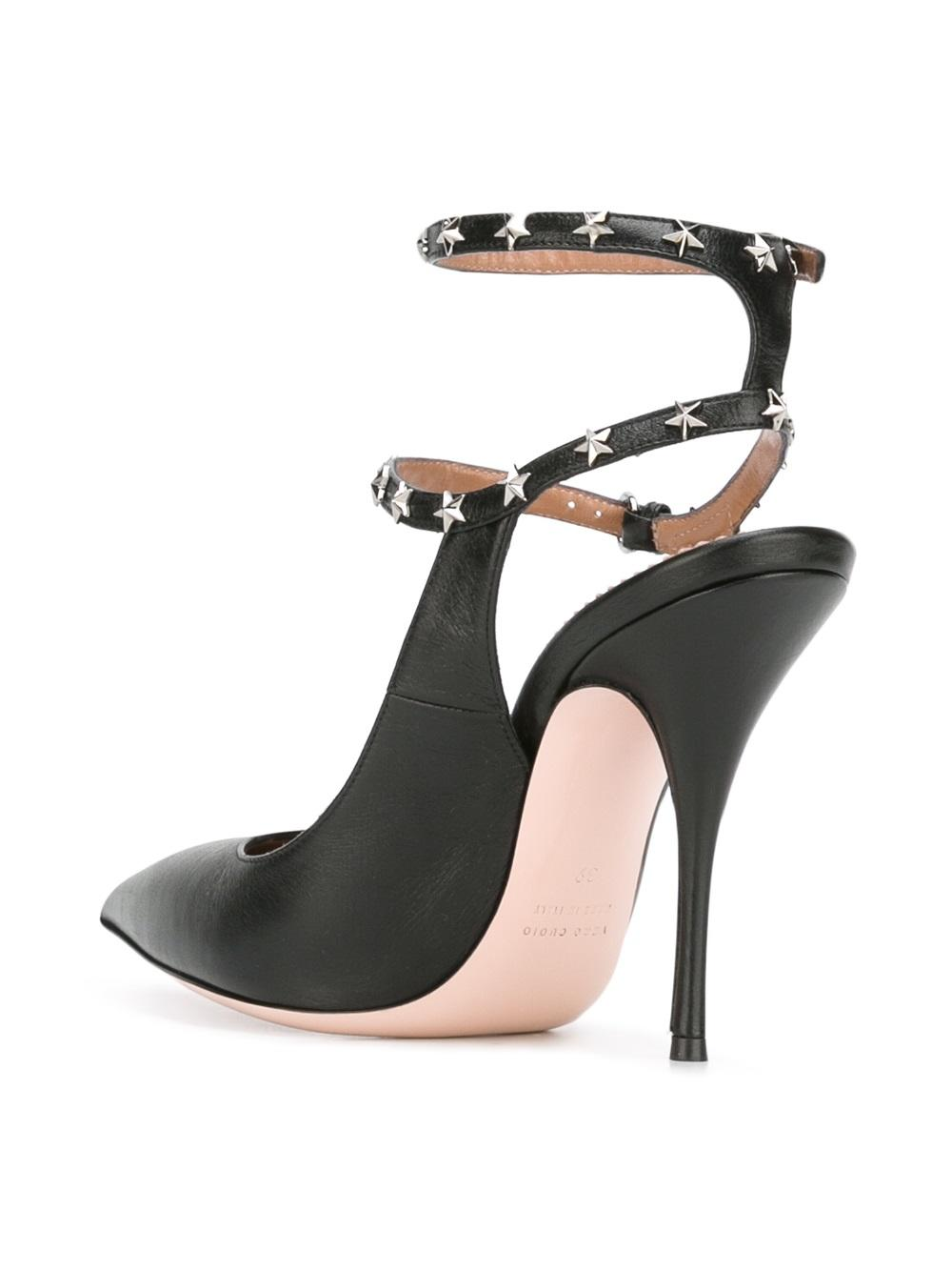 RED Valentino Ankle Strap High Heel