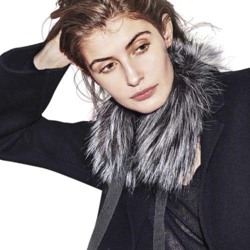 OH! By Kopenhagen Fur Bardot pelskrave