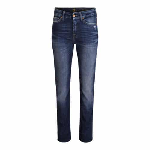 7  jeans Kimmie Straight West Indigo Jeans