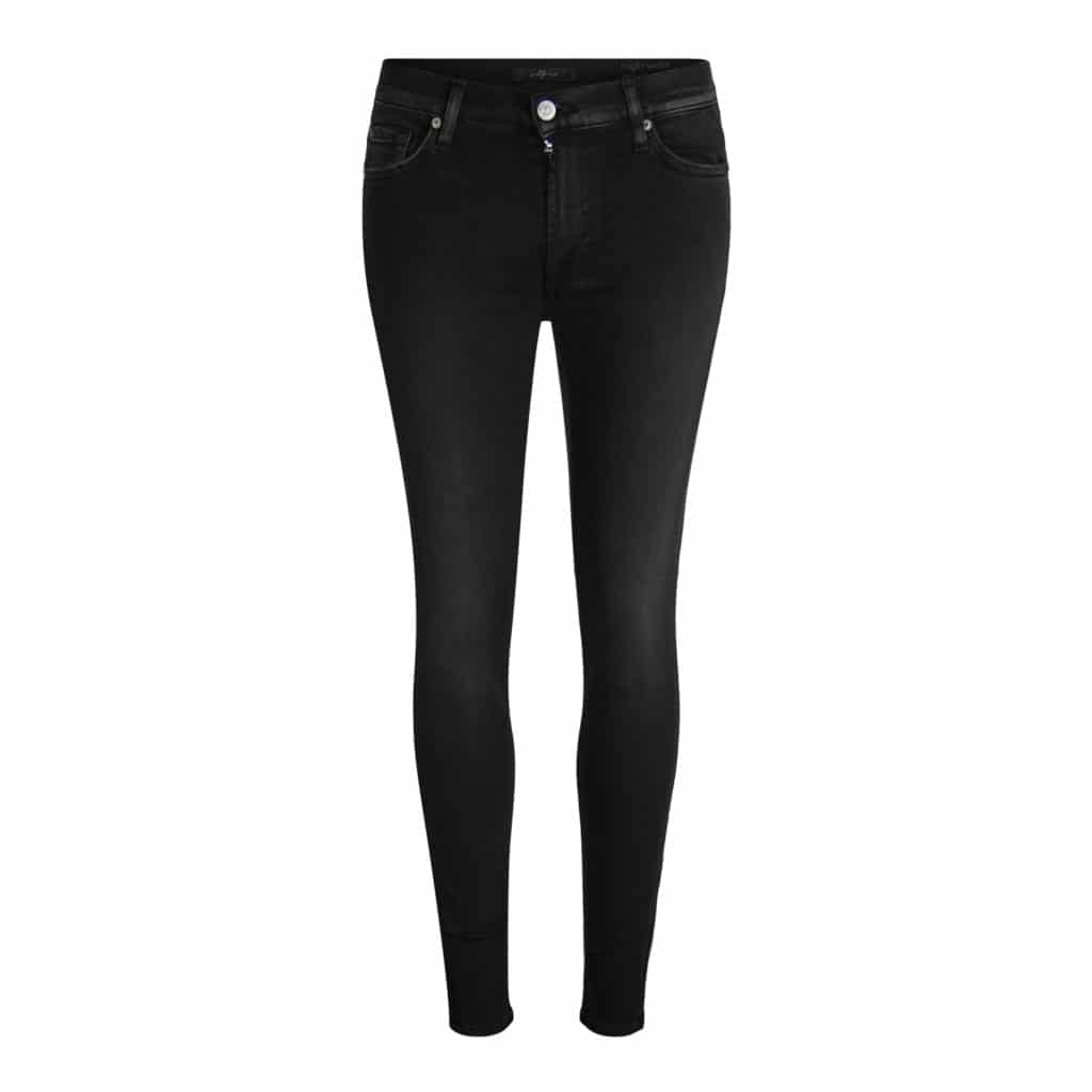 7 Jeans High Waist Skinny Illusion crop jeans