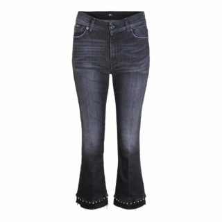 7 For All Mankind Rock Cropped Boot Jeans