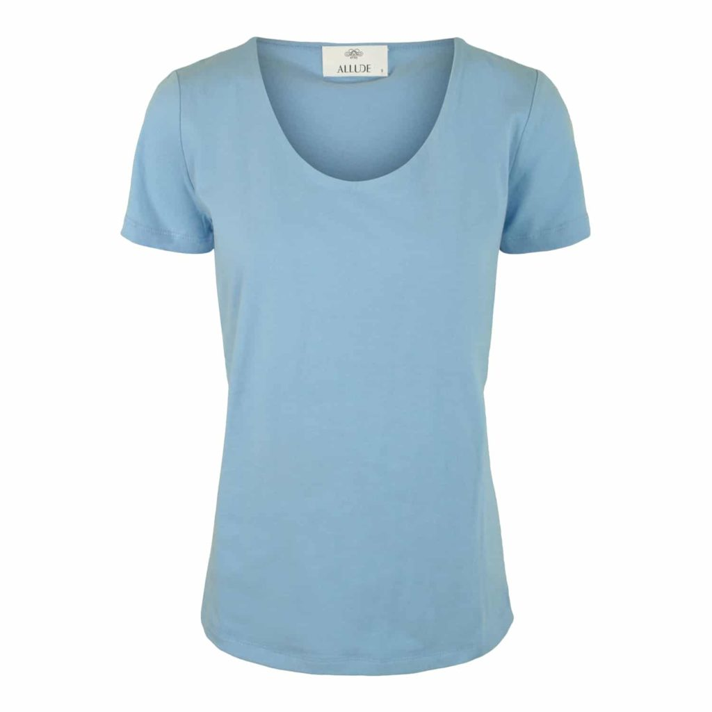 Allude Bomulds T-shirt