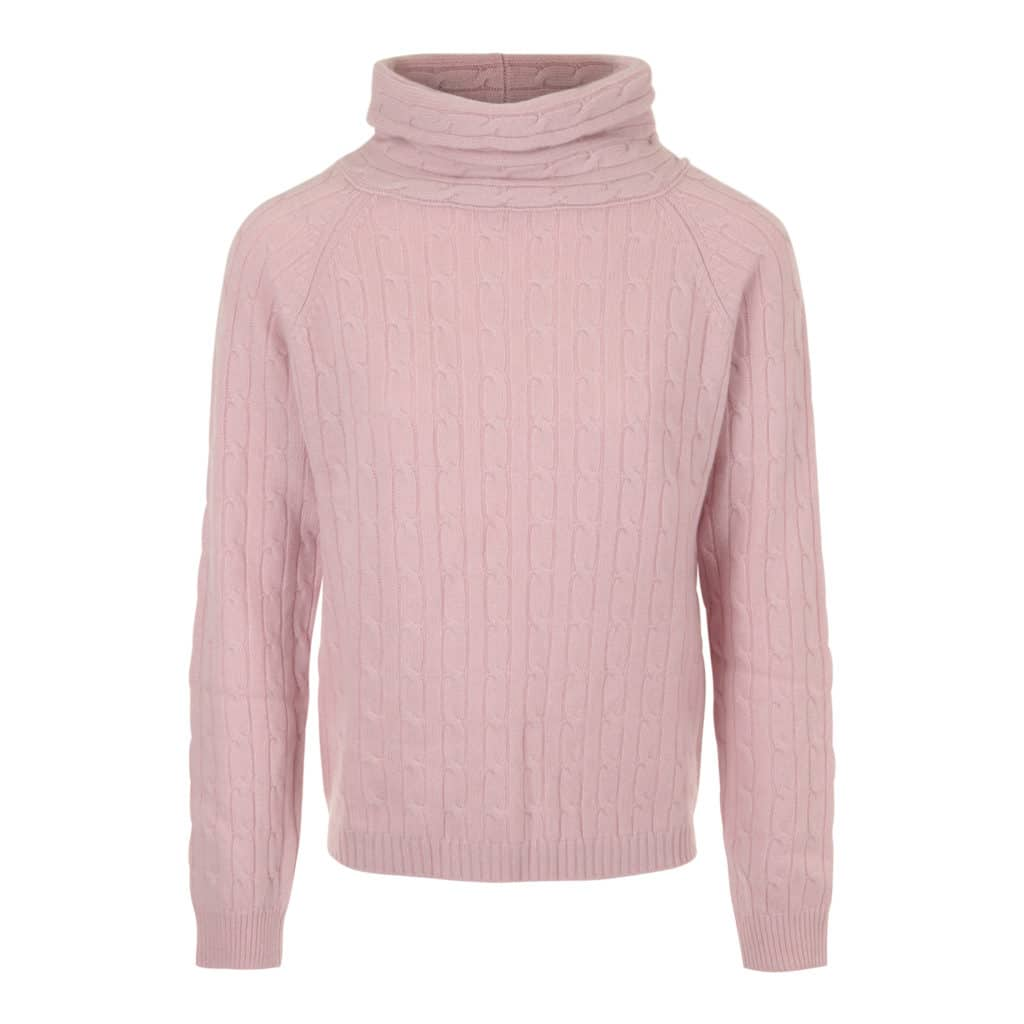 ALLUDE rullekrave Cashmere sweater