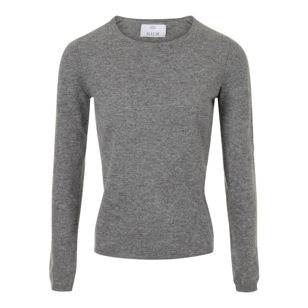 ALLUDE Grå Cashmere sweater