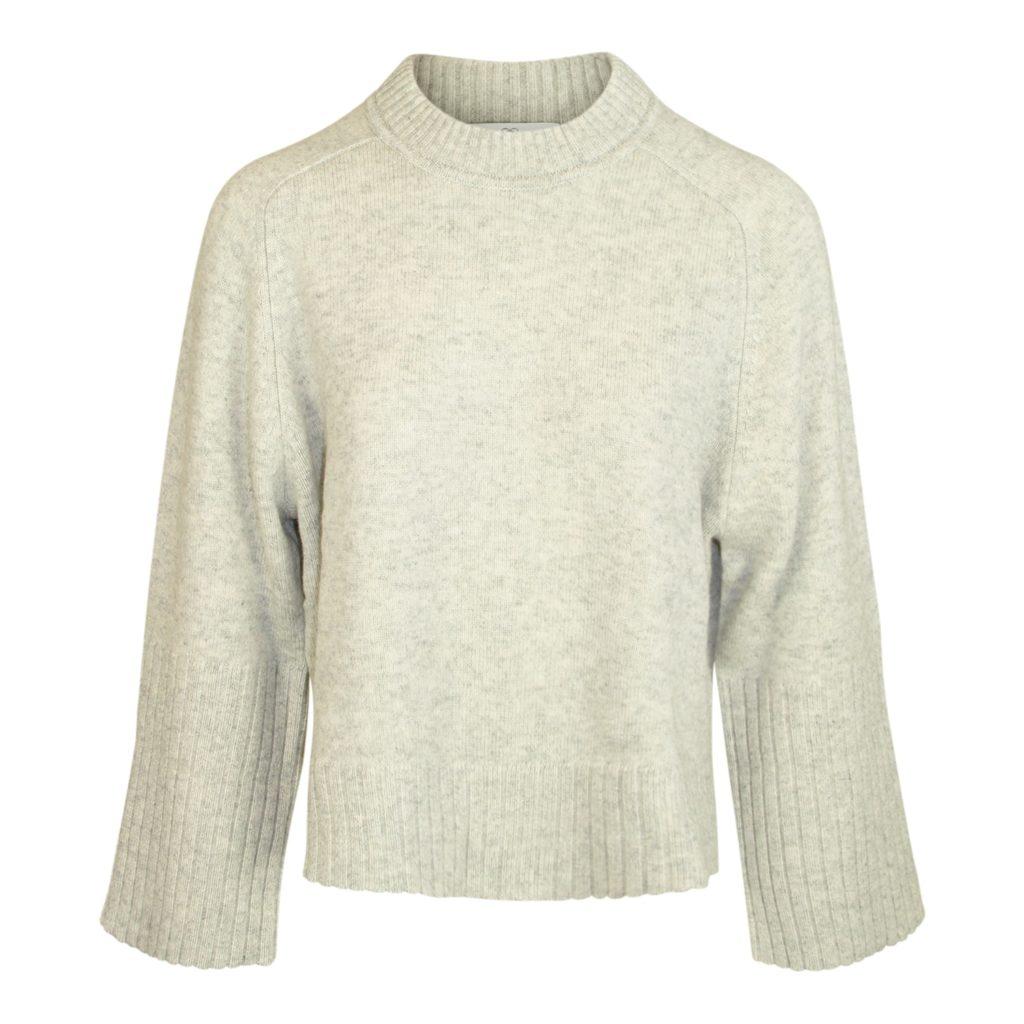Allude Grå Uld & Cashmere Sweater