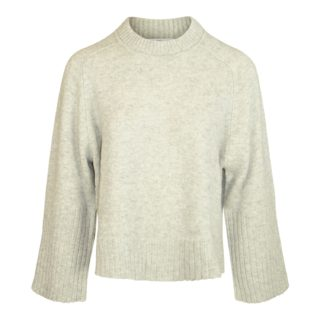 Allude Grå Uld & Cashmere Sweater