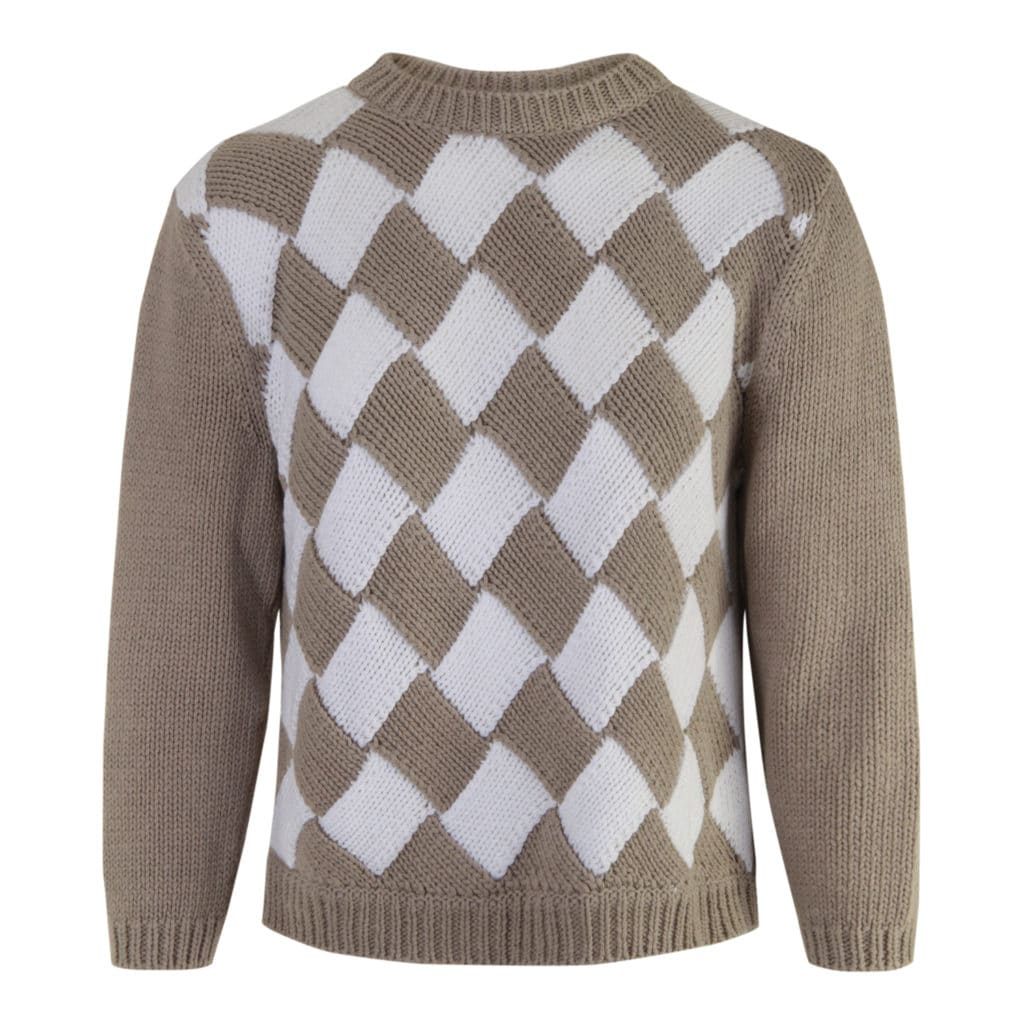 ALLUDE  100% Bomuld Kort Sweater
