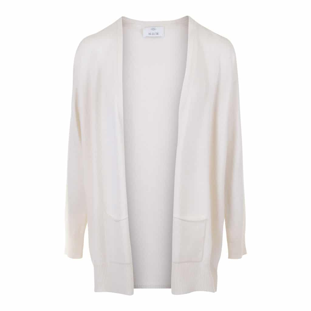 ALLUDE Cashmere Lang Cardigan
