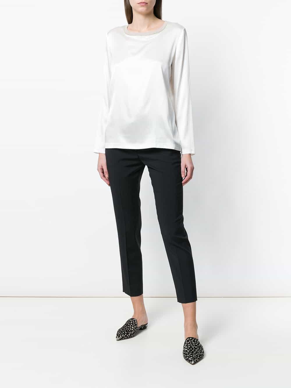 Fabiana Filippi R'hvid Silke Bluse