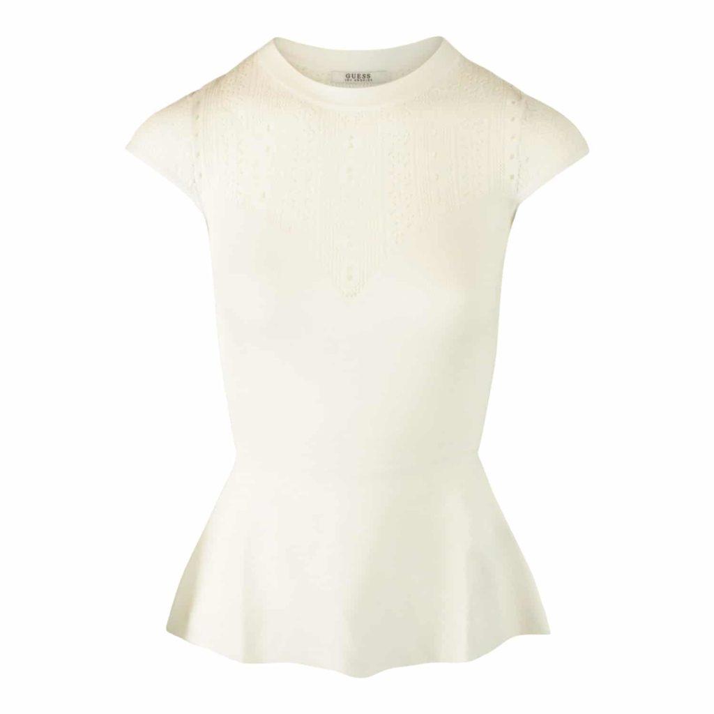 GUESS Hvid Bluse