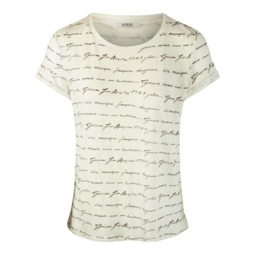 GUESS T-shirt Med Skrift