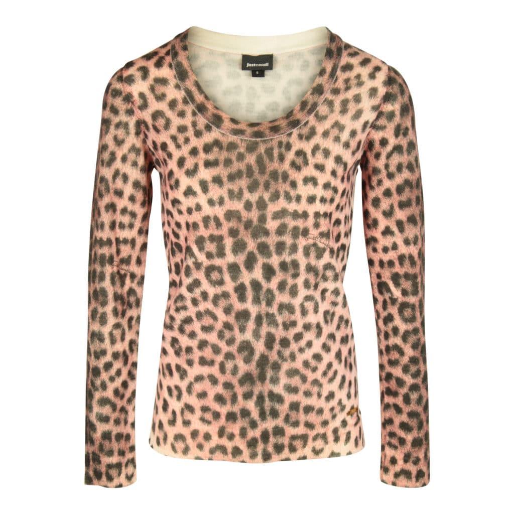 Just Cavalli Leopard Trøje