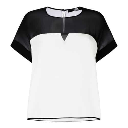 Karl Lagerfeld Silke Bluse