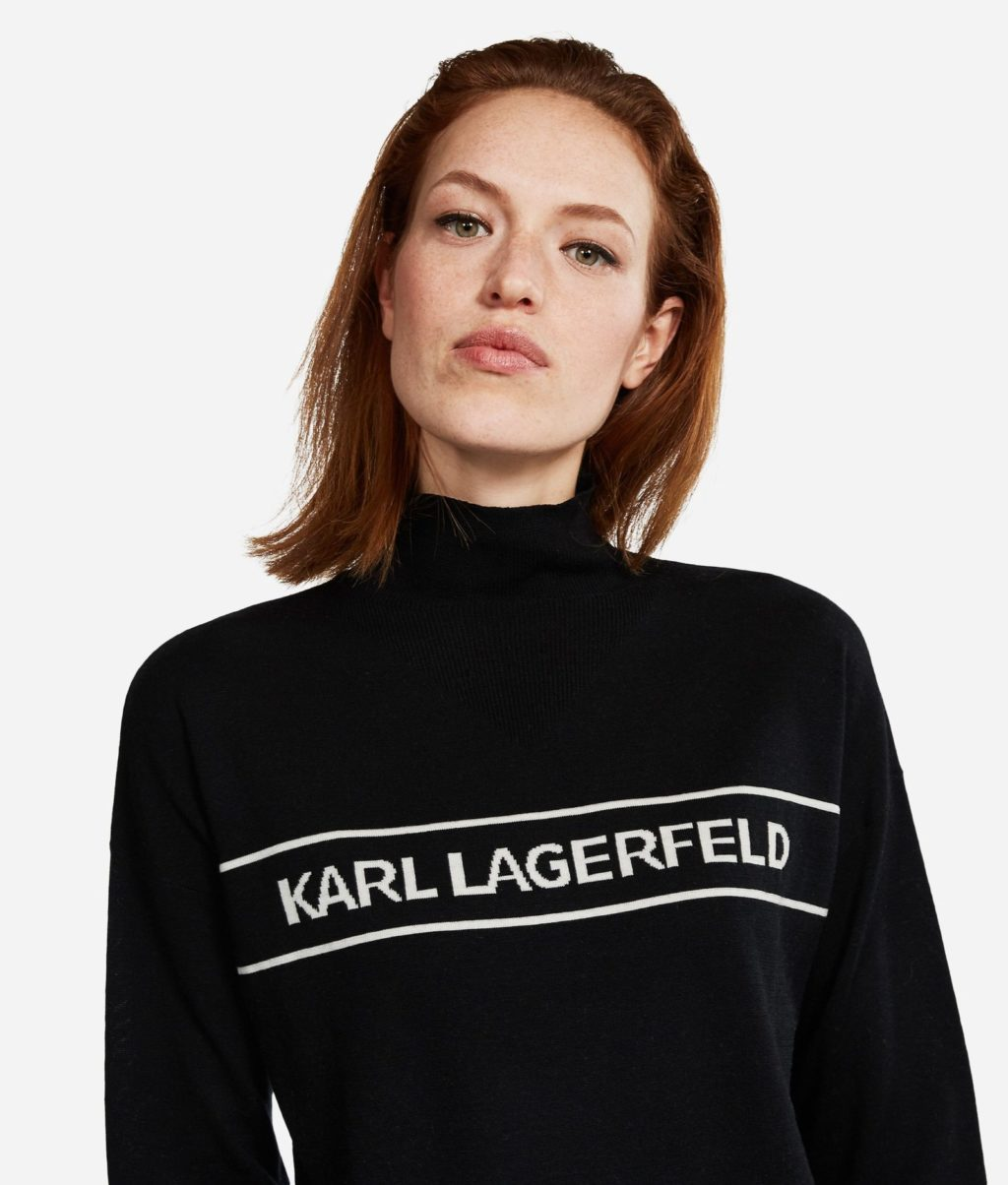 Karl Lagerfeld Logo Strik
