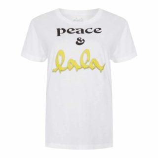 Lala Berlin T-shirt Cara Peace & Lala