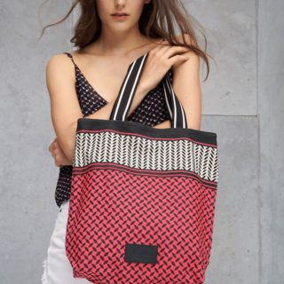 Lala Berlin Tote Carmela Color Blocked Taske