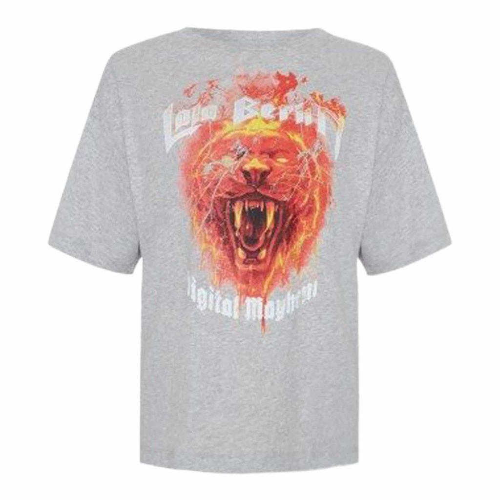 Lala Berlin T-shirt Rafi Fire Lion