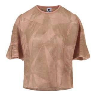 M Missoni Pink/Beige Bluse