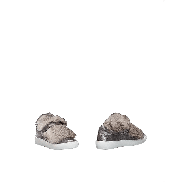 Moncler Lucie Silver Fox Sneakers