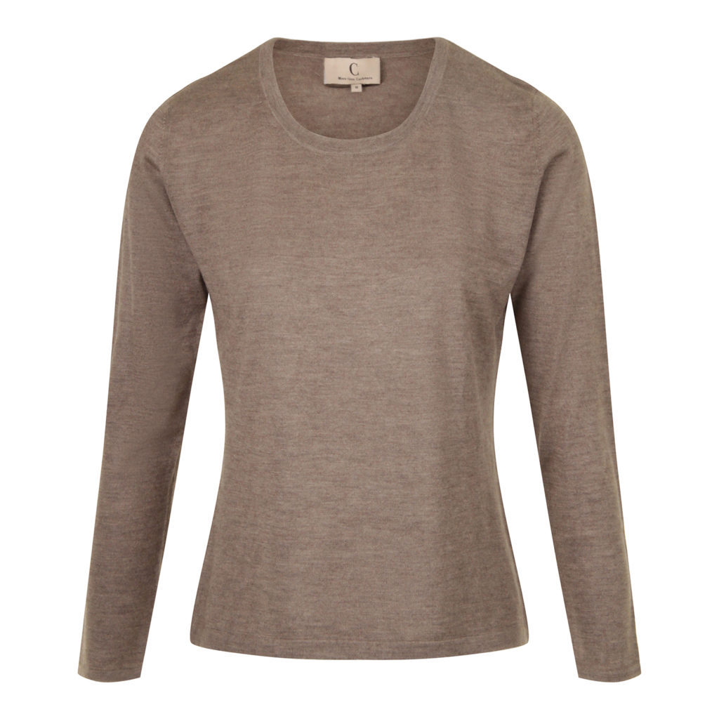 More Than Cashmere Classic Trøje