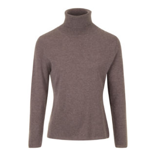 More Than Cashmere Rullekrave Sweater