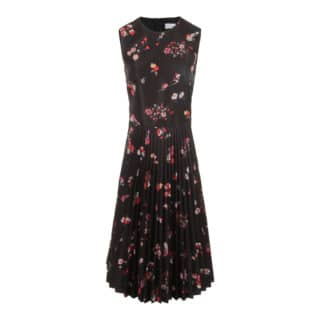 RED Valentino Black Flower Kjole