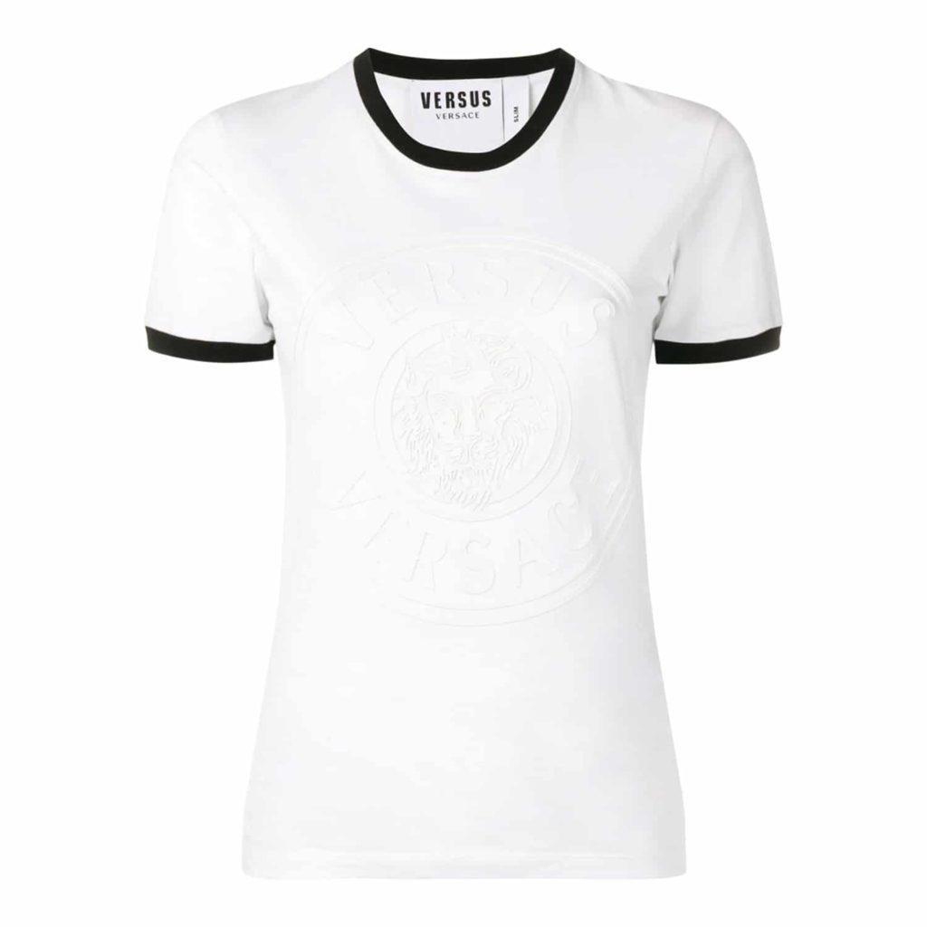 Versus Versace T-shirt Med Hvid/Sort Kontrast