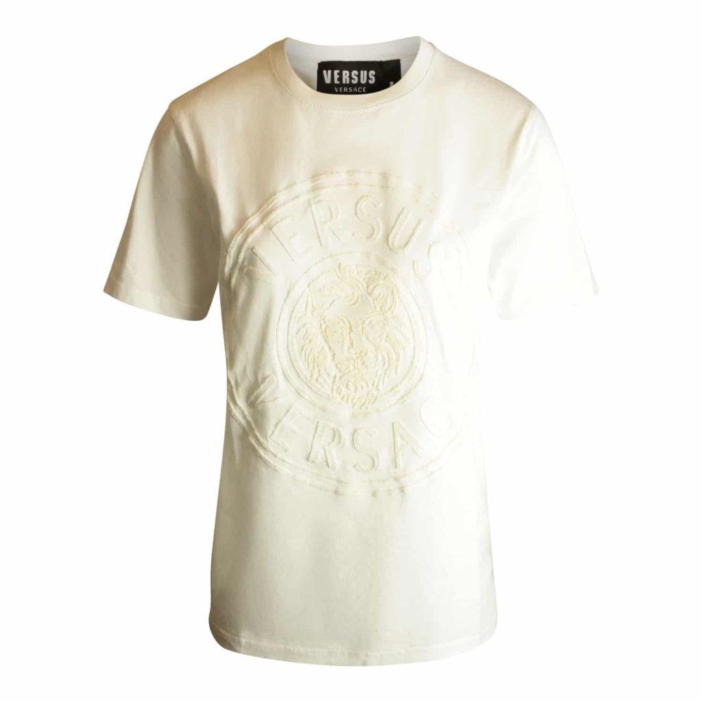 Versus Versace Hvid T-shirt Med Logo