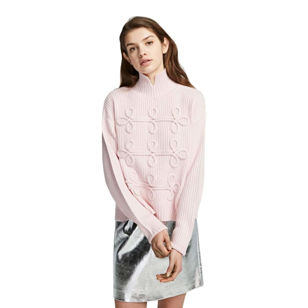 Karl Lagerfeld Rosa Detalje Sweater