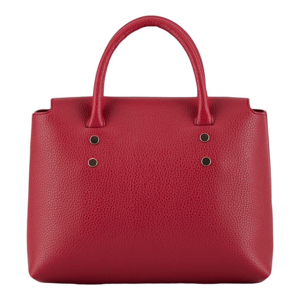 Emporio Armani Rød Håndtaske Med Logo