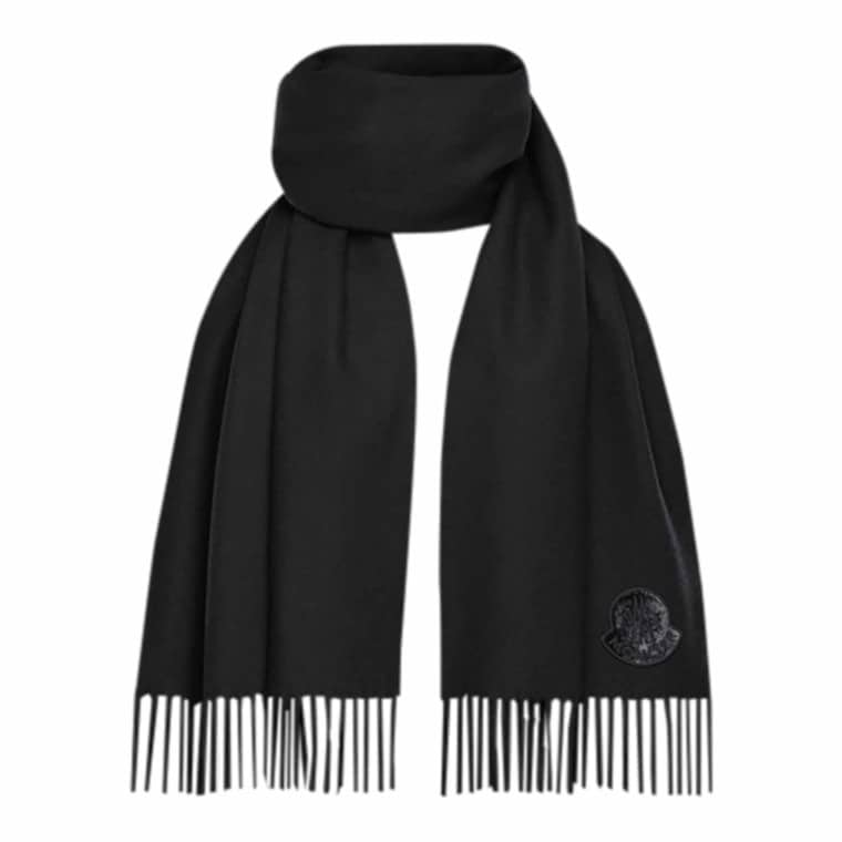 Moncler Sort Sciarpa Tørklæde