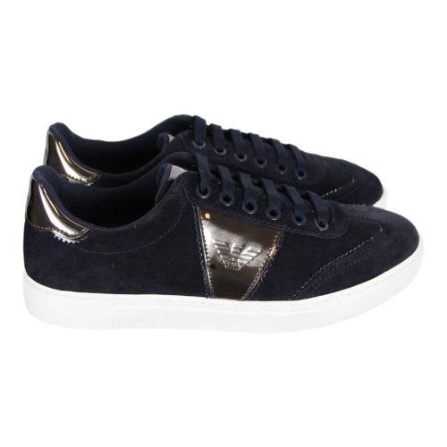 Emporio Armani Blå Sneakers