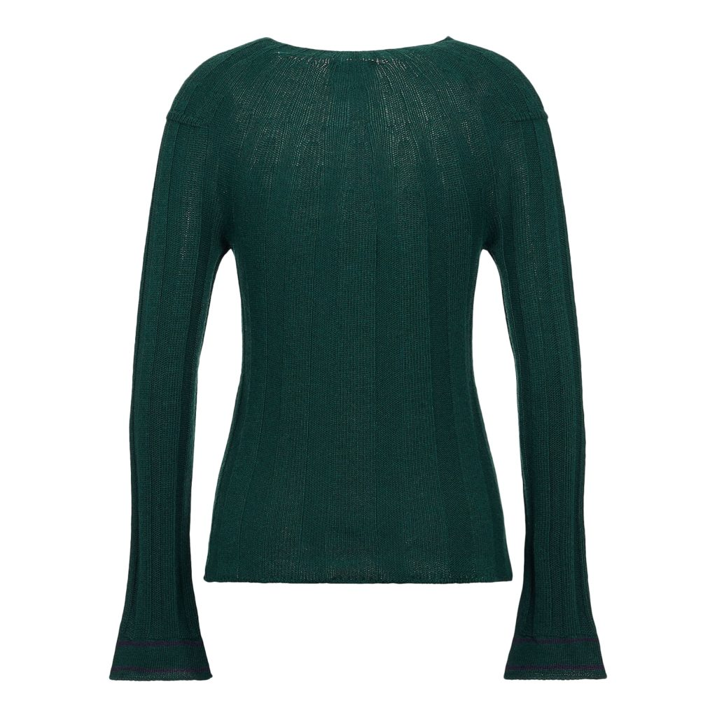 Emporio Armani Grøn Strikket Sweater