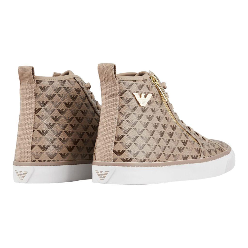 Emporio Armani Beige Sneakers