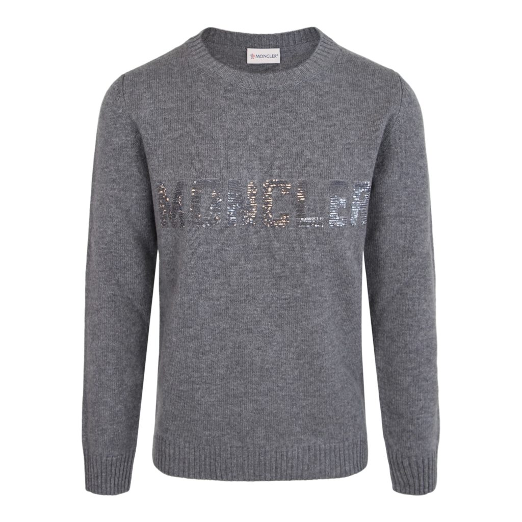Moncler Grå Maglione Tricot Sweater