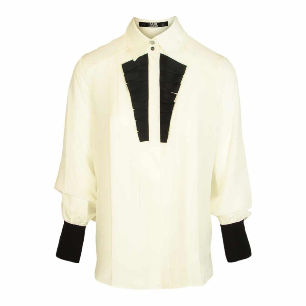 Karl Lagerfeld Silke Skjorte