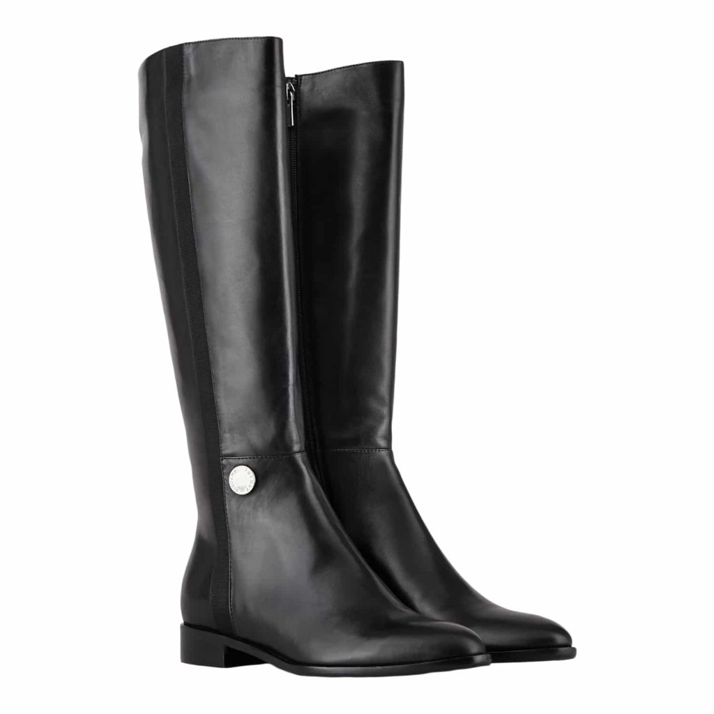Emporio Armani Lange Skind Støvler