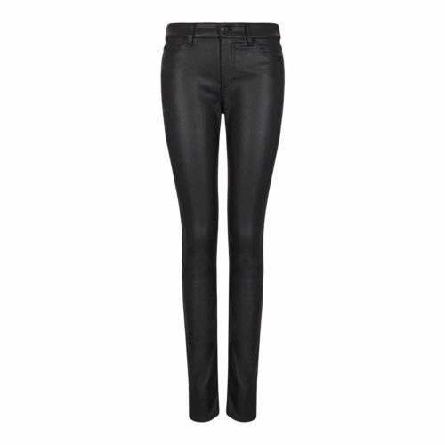 Emporio Armani Sort Coated Jeans