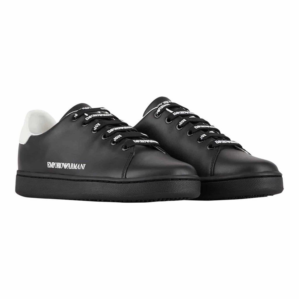 Emporio Armani Sorte Skind Sneakers
