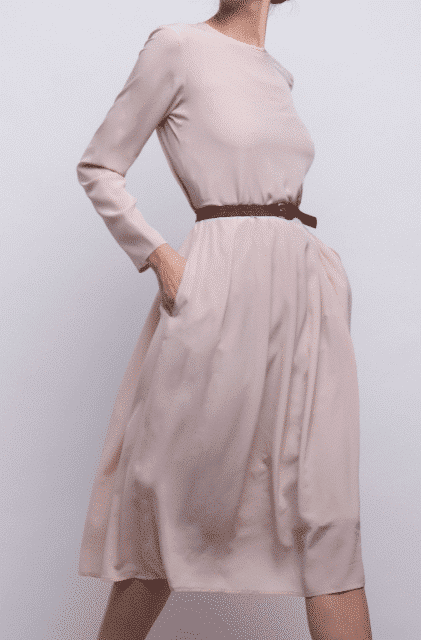 Elise Gug Rosa Lang Kjole
