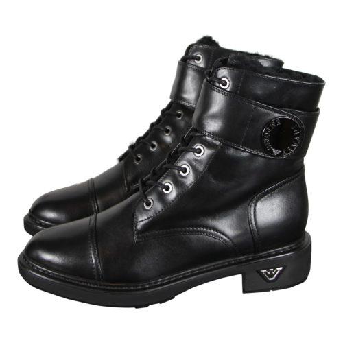 Emporio Armani Sorte Korte Støvler