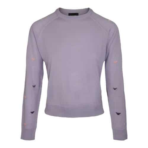 Emporio Armani Lilla Strikket Sweater