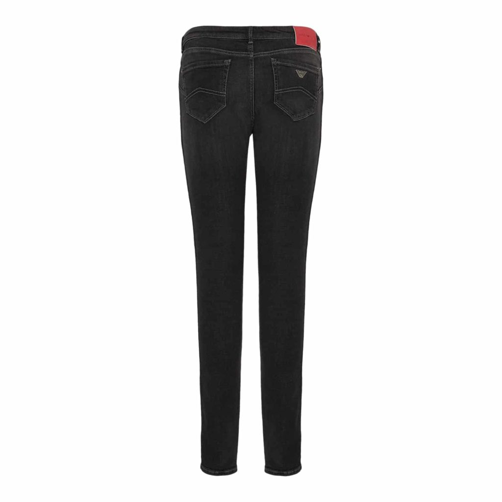 Emporio Armani Grå Straight Jeans