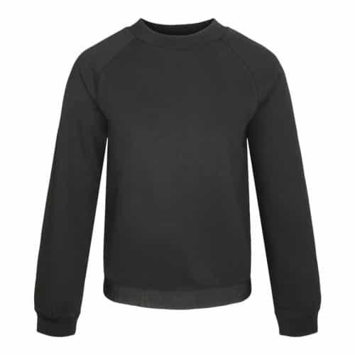 Emporio Armani Sort Sweatshirt Med Logo