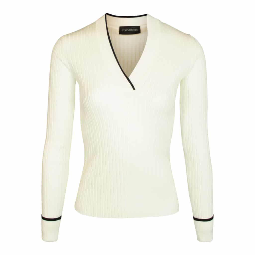 Sportmax Code Hvid Zenica Sweater