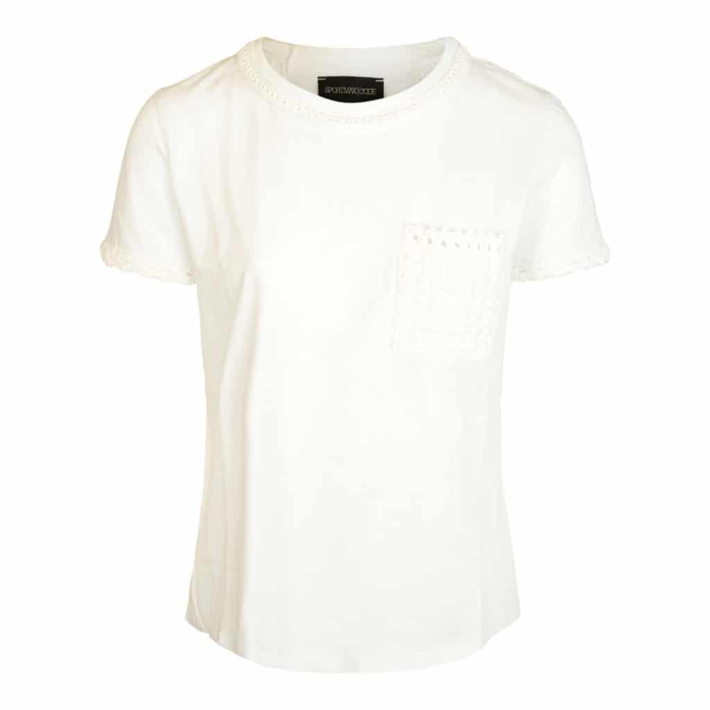 Sportmax Edmond Hvid T-shirt