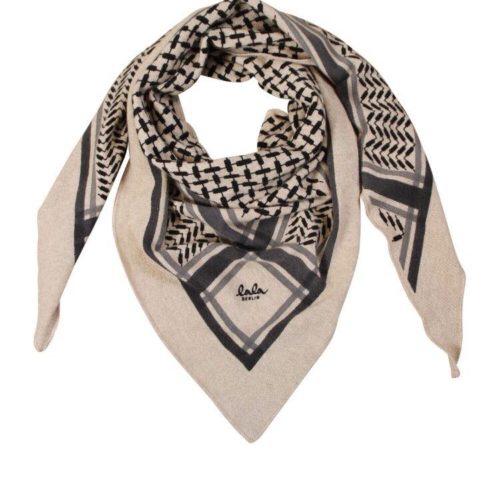 Lala Berlin Triangle Trinity Classic Tørklæde Dune M