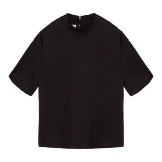 Nanushka Kaden Sort T-shirt