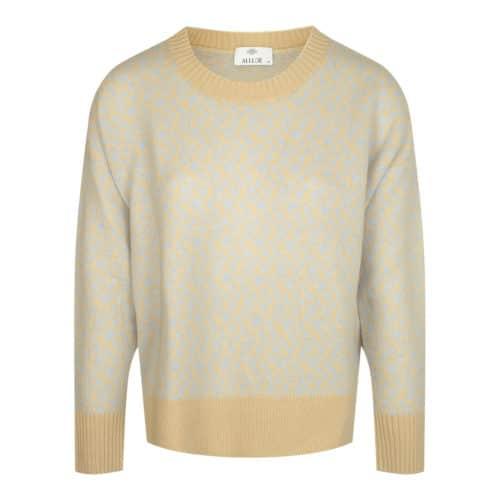 Allude mønstret cashmere sweater